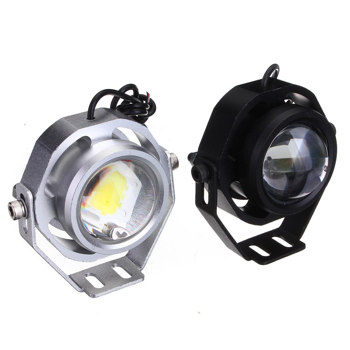Projector Cob LED Fog DRL Spot Lights Angel Eyes 2400 Lumens 12V For Hummer 2016