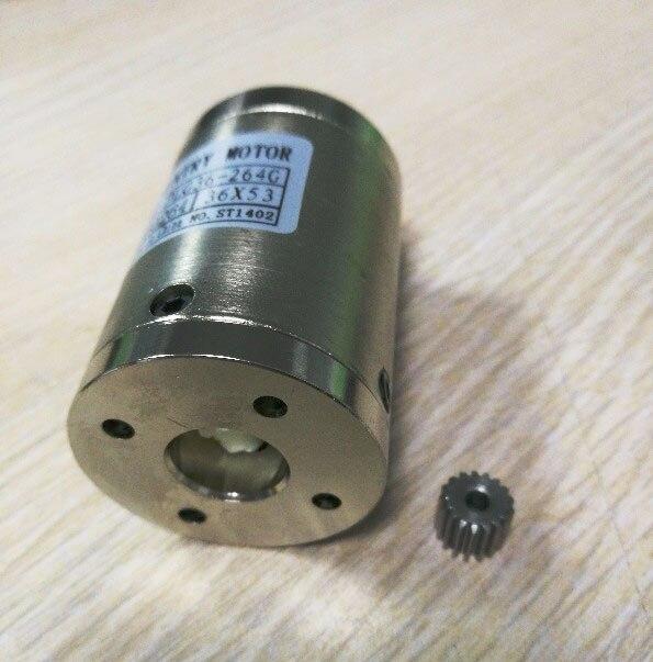 189:1 264:1 369:1 516:1 PLG36 Planetary Gearbox 36mm Diameter Input Diameter 4mm