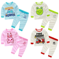 The boy Home Furnishing suit 2017 spring girl children pajamas baby underwear set fashion casual girls and boys sets hot sale