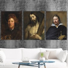 Home Decoration Print Canvas Art Wall Pictures Poster Printings Paintings England Anthony van dyck 4 Portrait