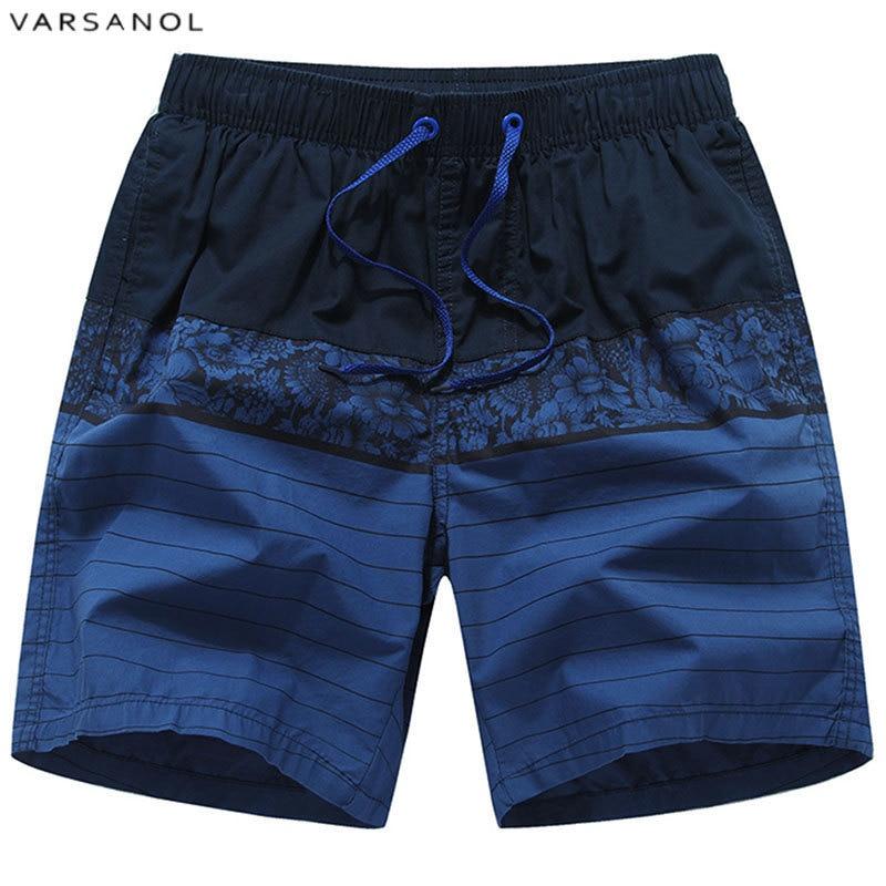 Varsanol Brand New Arrivals Swimsuit   Shorts   For Men Patchwork Male Beach   Board     Shorts   Summer Breathable Cotton Men's   Shorts   Hots
