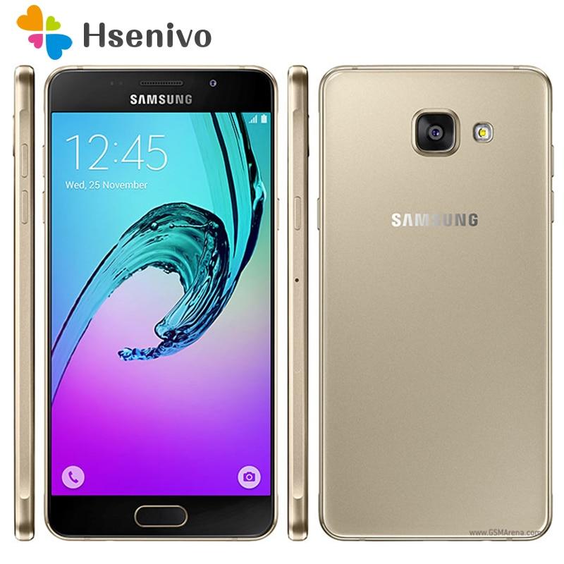 100 Unlocked Original Samsung Galaxy A5 A5100 Octa Core 2G RAM 16G ROM 5 2 Android