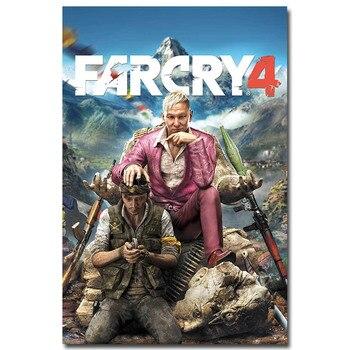 Плакат гобелен Far Cry 4 шелк
