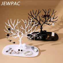 JEWPAC Little Deer Earrings Necklace Ring Pendant Bracelet Jewelry Display Stand Tray Tree Storage Racks Organizer Holder Z06