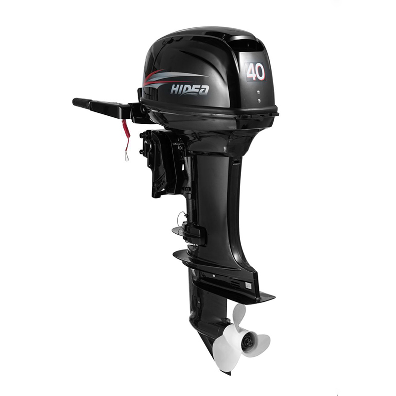 Hidea  Boat Engine  2 Stroke 40HP Long Shaft  Electric start Outboard Motor For Sale