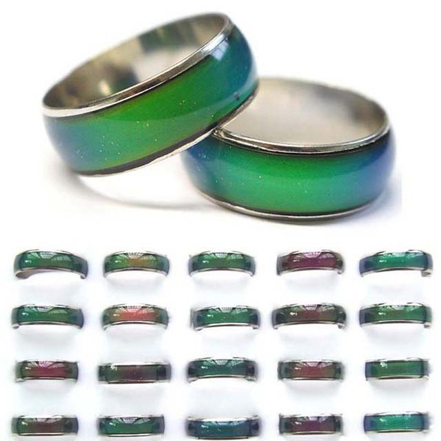 8b12386a58379 Anillo de joyería de colores cambiantes de moda