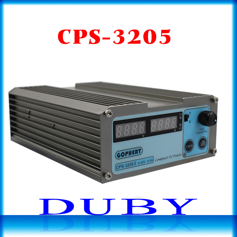 CPS-3205 II 160W low power 110Vac/ 220Vac 0-32V/0-5A,Compact Digital Adjustable DC Power Supply OVP/OCP/OTP (EU UK US) adapter 110vac 30 cps dh48j digital counter relay