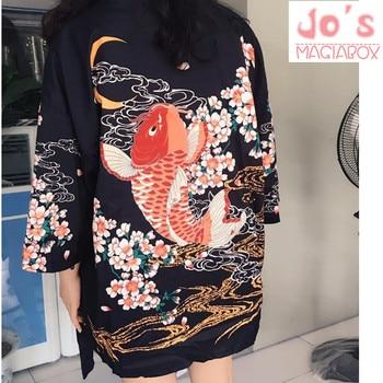 Top Fish Japanese Kimono 1