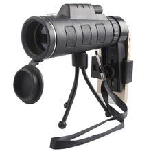 Cheaper Black HD Binoculars 40X60 high quality Telescope military  vision binoculo high power telescopio for hunting optics