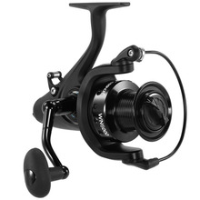 COONOR Carp Fishing Reel Spinning Reel 5.1:1 Fishing Wheel Fishing Reel WN5000 11+1 Ball Bearings with Left/Right Handle Pesca piscifun honor xt spinning reel 5 2 1 6 2 1 gear ratio up to 15kg max drag 10 1 bearings saltwater fishing reel tackle