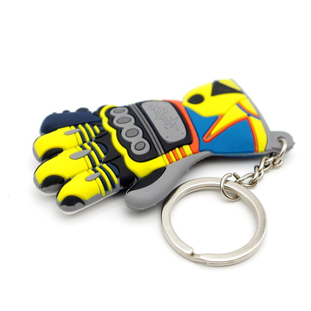 moto keychain glove logo motorcycle accessory key ring voiture chain