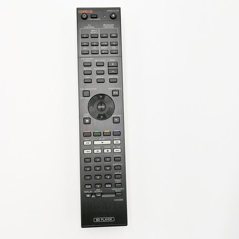 New Original Remote Control  VXX3385 For Pioneer BDP-LX54 BDP-LX55 LX53 LX52 Blu Ray DVD Player