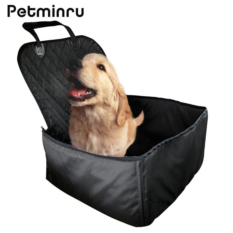 Petminru Waterproof Dog Storage Bag Pet Car Carrier Bucket