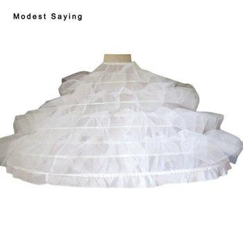 9 enagua de aros de alta calidad, enagua para vestido de novia súper grande, vestidos de novia 2019, accesorios de boda Crinoline