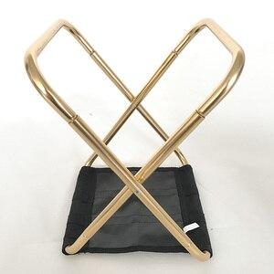 Image 4 - Hafif Oxford kumaş açık sandalye taşınabilir katlanır tabure kamp katlanabilir piknik sandalye çantası 7075 alüminyum katlanır tabure