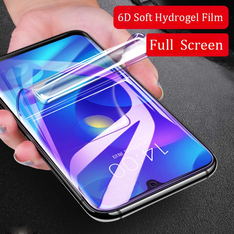 For Xiaomi Redmi Note 7 6D Soft Hydrogel Screen Protector