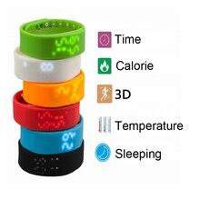 1 pc Intelligent Multiple Bracelet Bracelet Montre Podomètre fitness Tracker Activité Motion Record Étape/Distance/Calories/Sommeil mini H5