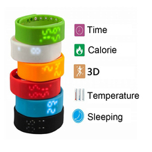 1pc A number of Good Bracelet Wristband Watch Pedometer health Tracker Exercise Movement Document Step/Distance/Calorie/Sleep mini H5