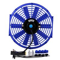 Universal 12 Inch Car High Power Pull Racing Electric Radiator Engine Cooling Fan 12V 80W High Quality