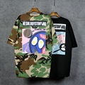 2016 Harajuku New Fashion Camouflage T Shirt Women ShortSleeve Summer Tops Loose Fit Ladies Oversize tshirt femme 1637