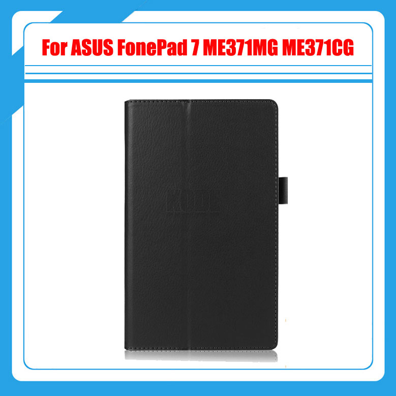 3 in 1 ,Pu Leather Folding Case Cover Stand For ASUS FonePad ME371 ME371MG ME371CG + Screen Protector + Stylus