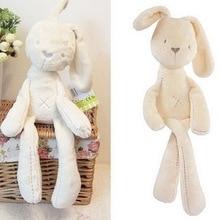 Новая мода мягкие чучела животные Дети животное кролик спящий милый мультфильм плюшевые игрушки чучела Животные Куклы Детский подарок на день рождения