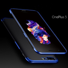 Perciron Luxury Plated TPU Case For OnePlus 5 Transparent Ultra Thin Silicone Cover One plus 5t Phone Accessories 6.0inch