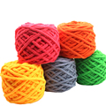 Colorful Dye Scarf Hand-knitted Yarn For Hand knitting Soft Milk Cotton Yarn Thick Wool Yarn