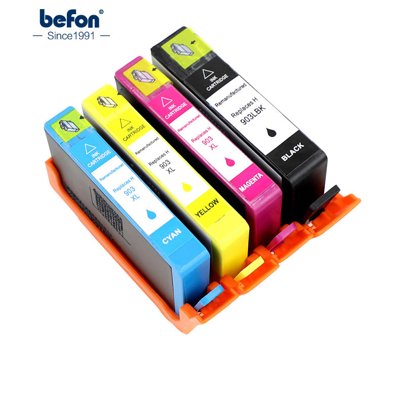 befon 903XL Compatible Ink Cartridge Replacement for HP 903 HP903 for OfficeJet Pro 6950 6960 6970 befon 903XL Compatible Ink Cartridge Replacement for HP 903 HP903 for OfficeJet Pro 6950 6960 6970