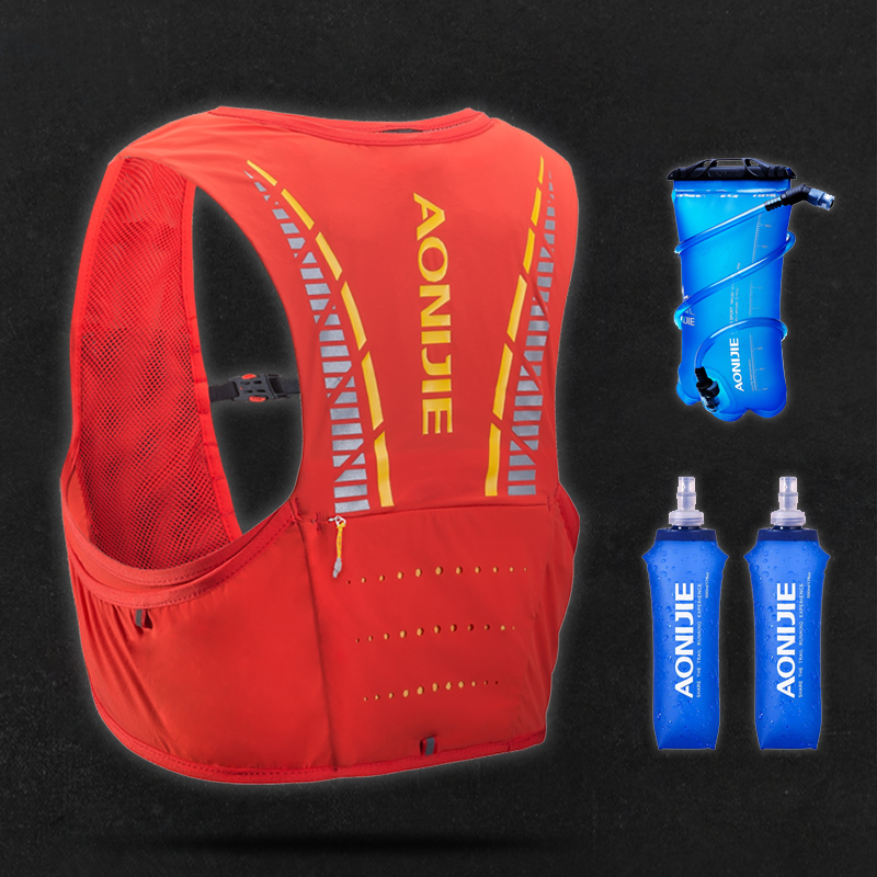 AONIJIE 5L Hydration Pack Backpack Rucksack Bag Vest Harness Water Bladder Hiking Camping Running Marathon Race Climbing