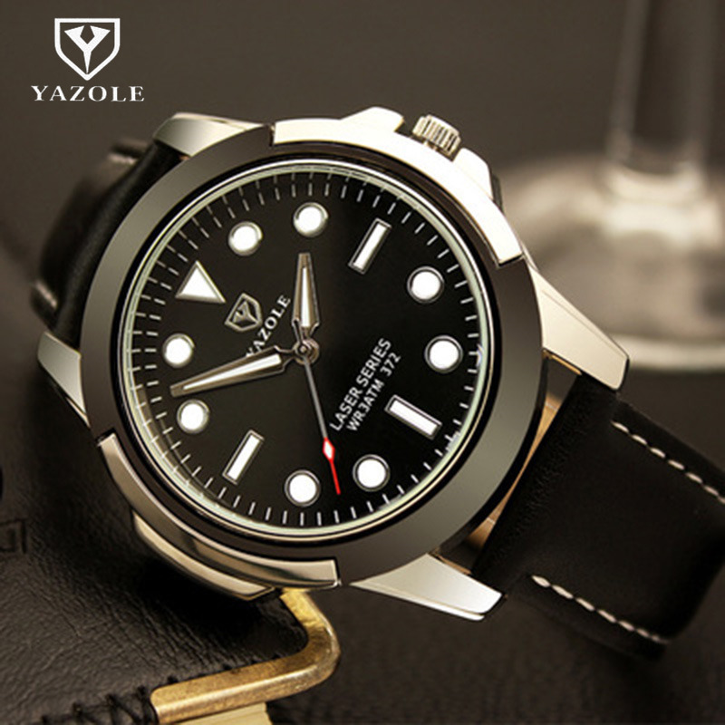 YAZOLE Top Brand Fashion Luminous Sport Watch Men MilitaryWatches Waterproof Quartz Watch Hour Clock montre homme reloj hombre casima luxury brand sport quartz watches men reloj hombre fashion silicone band100m waterproof men watch montre homme clock