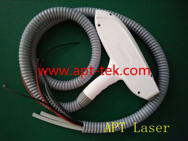 Nd Yag Laser Handle Included 3 pcs laser treatment Head