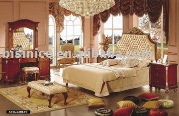 classica king size mobili camera da letto set ( letto , comodino ...
