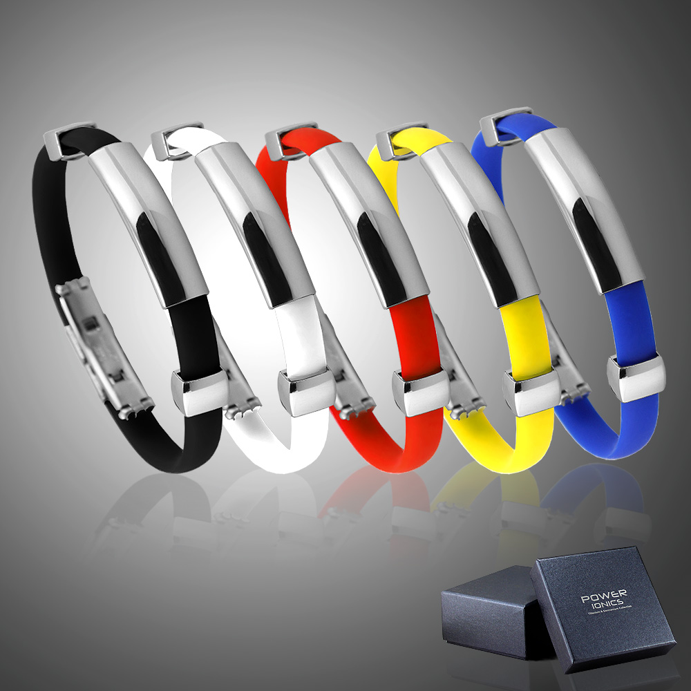 Power Ionics 2000ions Tourmaline Magnetic Bracelet Plus