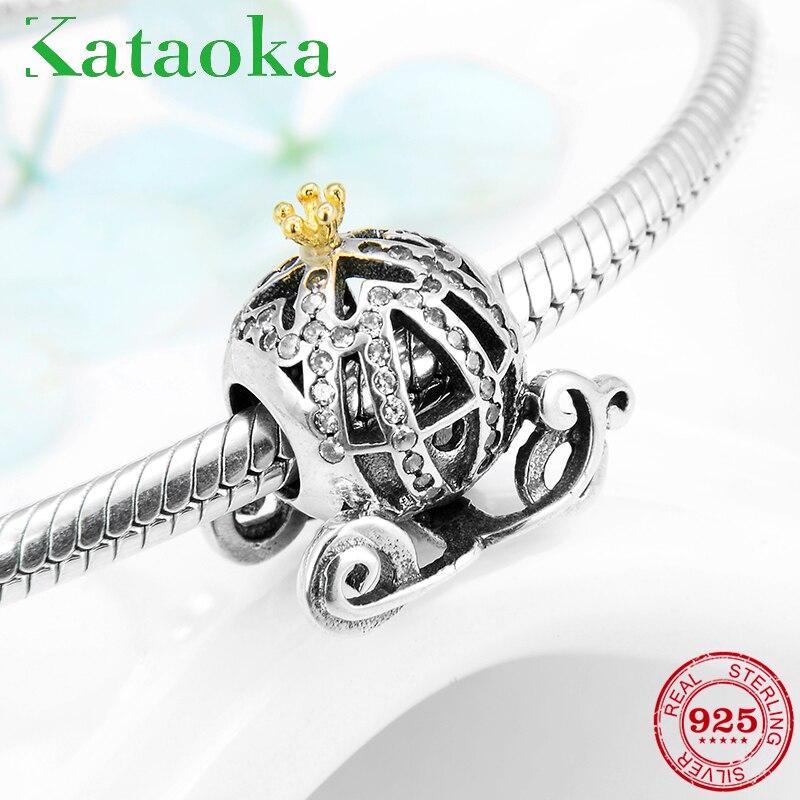 Enamel Openwork Beads Luxury CZ New Jewelry Fit 925 Silver Charms Bracelet Chain