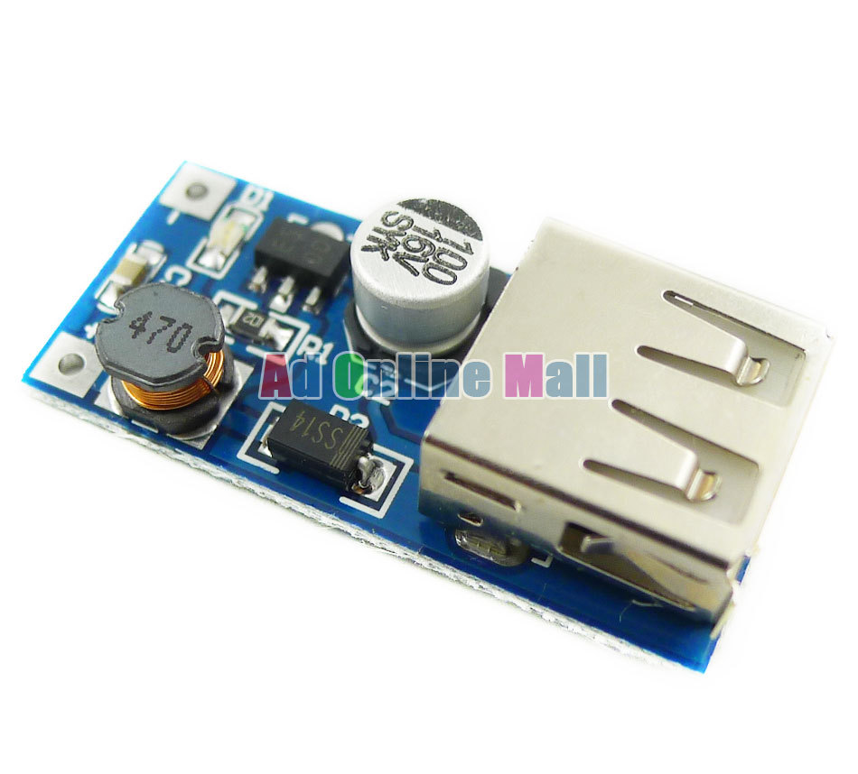 1PCS 0 9V 5V to 5V DC DC font b USB b font Voltage Converter Step