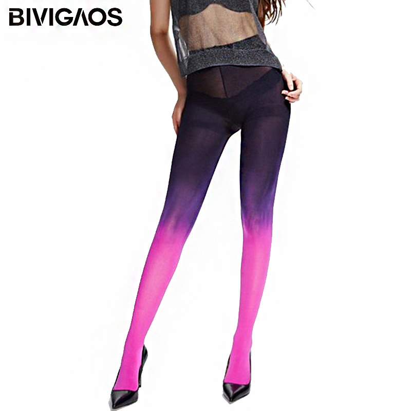 New 120D Velvet Japanese Kawaii Mujer Ombre Tights Sexy Stocks Seamless Gradient Pantyhose Women Stockings Pantys Medias Collant