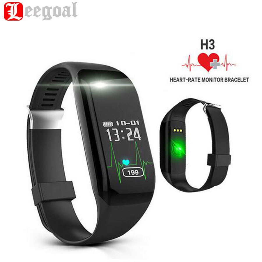 Camera Monitor For Android Phone online buy wholesale monitor android phone from china h3 smart bracelet wristband heart rate bluetooth 4 0 passometer sports fitness tracker smartband for ios