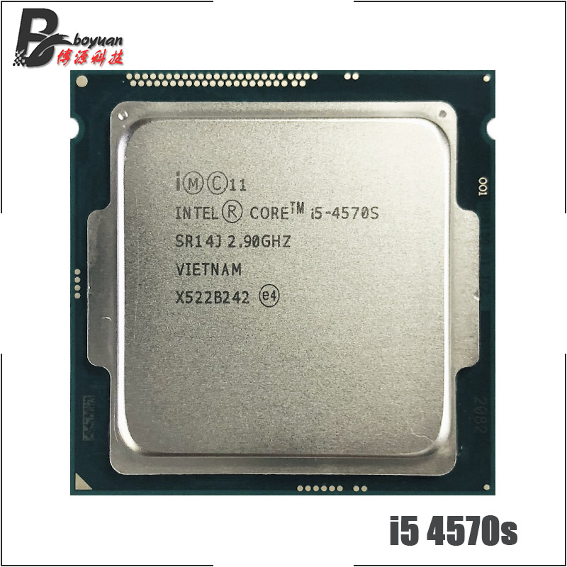 Intel Core i5 4570S i5 4570s 2 9 GHz Quad Core Quad Thread CPU Processor 6M