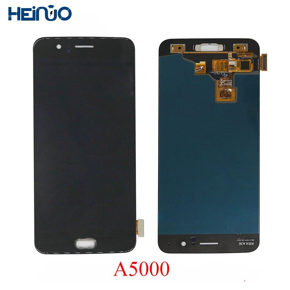 Haute LCD Affichage Pour Oneplus 5 A5000 Tactile Écran pantalla Pour Un plus Cinq Tela Assemblée Remplacer pièces avec cadre + outils de réparation