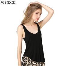 82ab1cf4e1 2018 New Brand Tees Women Stretchy Camisole Spaghetti Strap Long Tanks Tops  Pure Color Summer Sexy