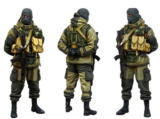 1/35 Resin Figure Russian Soldier 1pc Model Kits