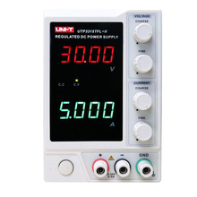 UNI-T UTP3315TFL-II DC Regulated Power Supply Single Channel 30V/5A/150W with LED Display 30v 20a switching regulated adjustable dc power supply single channel variable digital display smps ey3020et