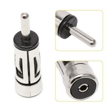 Car Vehicles Radio Stereo ISO To Din Aerial Antenna Mast Adaptor Connector Plug