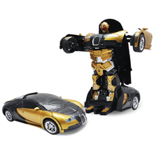 Deformation Car 1:14 Remote Control Toy Hand Induction RC Car Remote Control Automobile Toys High Speed Gravity For Kids
