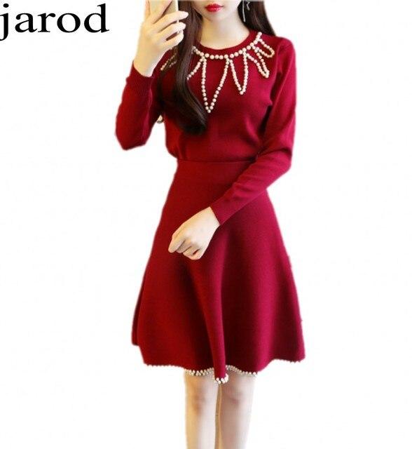 famosa marca de diseñador nueva productos calientes predominante Chandal mujer completo las mujeres de dos piezas establece 2017 mujeres  Elegante Perla de manga Larga Tops + Ropa Falda set de 2 unidades en Sets  ...