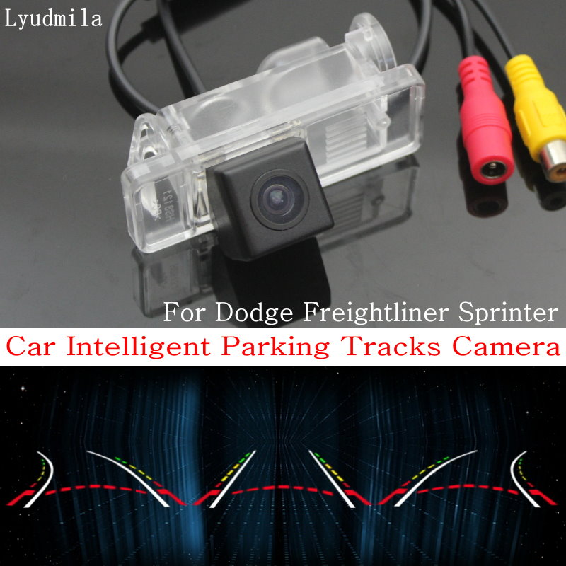Lyudmila Car Intelligent Parking Tracks Camera FOR Dodge Freightliner Sprinter HD CCD Back up Reverse Camera / Rear View Camera-in Vehicle Camera from Automobiles & Motorcycles    1