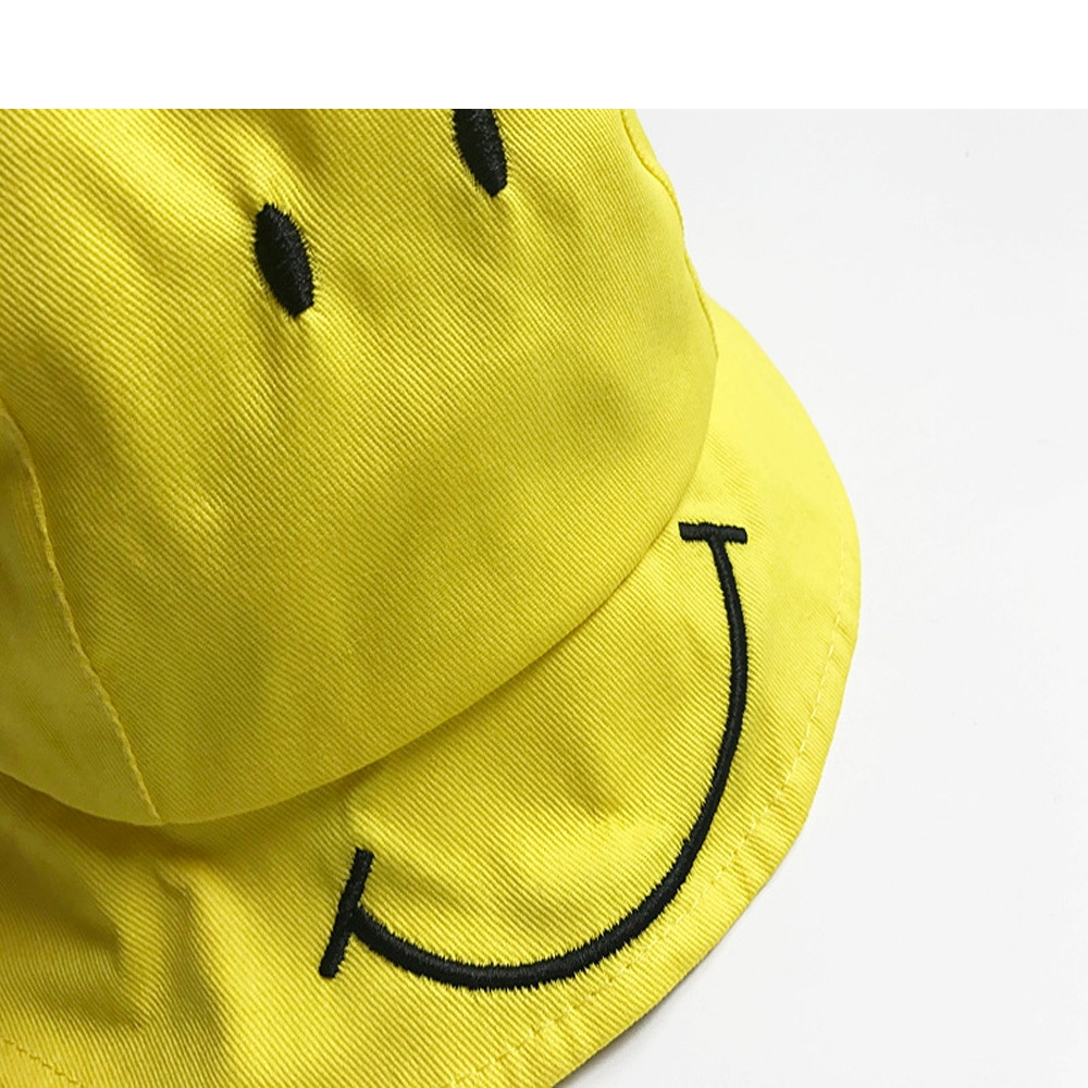 CHAMSGEND Baby Kids Cute Smiling Face Hat Boys Girls Spring Summer Sun yellow  Hat Fisherman Cap gift-in Hats   Caps from Mother   Kids on Aliexpress.com  ... 1f9d408699e