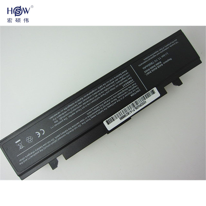 HSW Laptop Battery for Samsung AA PB9NC5B AA PB9NC6B AA PB9NS6B RC530 R463 NP R478 R468 Q320 NP R428 NP R468 X360 battery in Laptop Batteries from Computer Office