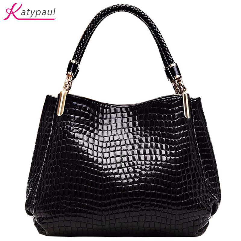 Bags For Women 2017 New Fashion Luxury Handbags Women Bags Designer Bolsa Sac Alligator Women Leather Handbags Bolsa Feminina